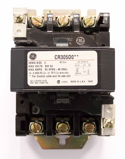 GE Contactor CR305DO