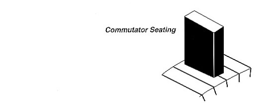 Commutator Seating